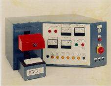 Simple test machine for electrical and safety testing of a domestic socket outlet.